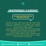 Inspiring peduli sulbar dan kalsel